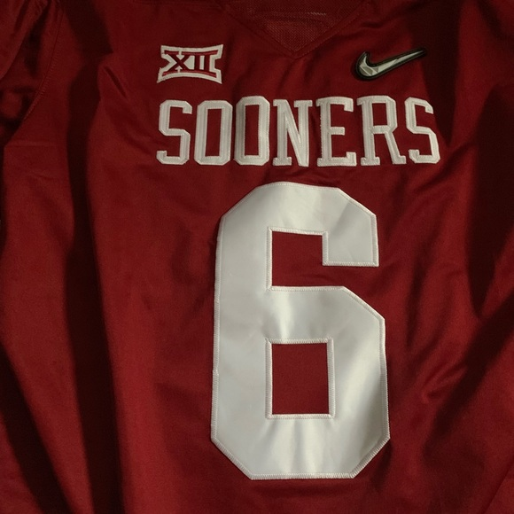 info for 8cb61 26a2f Oklahoma Baker Mayfield Jersey